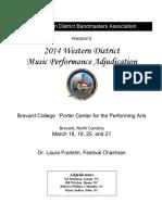 MPA Program 2014 - Western District