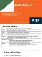 Corpus Linguistics - Semantic