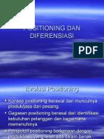 Positioning Dan Diferensiasi