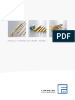 Product Portfolio Contact Probes