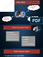 Why to Choose MBA and Career opportunities after MBA for different streams