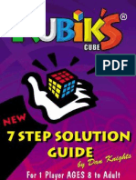 Rubik's Cube - 7 Step Solution Guide