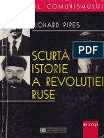 Richard Pipes - Scurta Istorie a Revolutiei Ruse