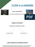 Introduccion a La Mineria s1