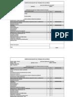 Inspección de Elementos Para Trabajo en Alturas