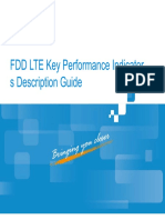 ZTE FDD LTE Key Performance Indicator
