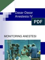 4.Dasar-Dasar Anestesia