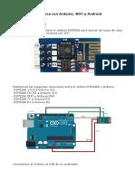 Domotica Con Arduino Wifi y Android