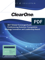 A - Clear One Award Write Up [12]