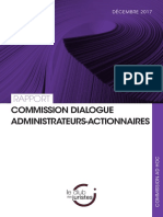 Le dialogue administrateurs actionnair