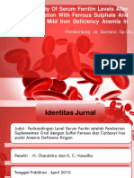 Comparative Study of Serum Ferritin Levels After Oral Supplementation With Ferrous Sulphate and Carbonyl Iron in Mild Iron Deficiency Anemia in Pregnancy (2)