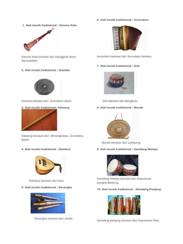 800 Gambar Alat Musik Guoto  Terbaru