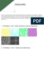 Index of Examples | Generative Landscapes
