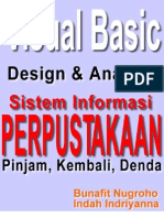 Skripsi Visual Basic 6.0 - Desain Dan Analisis Sistem Informasi Perpustakaan