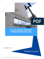 City of Lansing - Final Pension Report (2017)