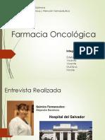 Presentación Farmacia Clínica Farmacia Oncológica