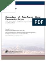 ComparisonofOpen-SourceLinearProgrammingSolvers