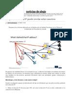 Lo Que La Dirección IP Puede Revelar Sobre Nosotros – Noticias de Abajo