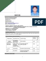 Tika resume