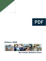 Australia Defence White Paper 2000