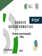 03 Povijesni Razvoj Kartografije i GIS-A 09062010