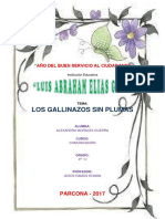 ANÁLISIS  LITERARIO DEgallinazos