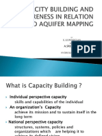 Capacity Building & Awareness in Relation to Aquifer Mapping