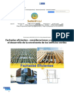 Fachadas Eficientes - Estrategias Para Edificios Verdes