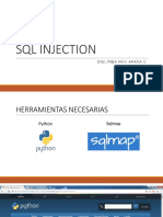 Sesion N°2 SQL INJECTION