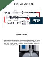 Sheet Metal Working Ppt