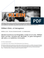William Klein, el transgresor | Oscar en Fotos