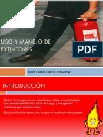 Uso y Manejo de Extintores Capacitacion