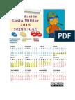 Liquidación GM 2015