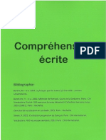 Cour Français Comprehension