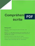 Cour Français Comprehension