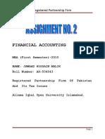 44137564 Partnership Firm in Pakistan