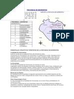 Provincia de Morropon - piura