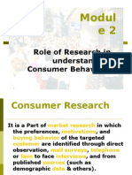 consumer research