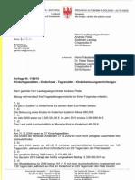 Antwort Landtagsanfrage Kitas Tagesmütter Kinderhorte 0810