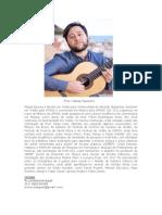 Violão - Miguel Besnos - Currículo