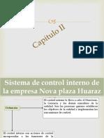 Sistema de control interno de la empresa Nova.pptx