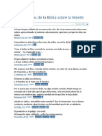 13 Versículos de La Biblia Sobre La Mente