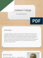 Literatura Griegacpm CPM