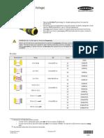 S18 Series Sensors (AC Voltage) Datasheet