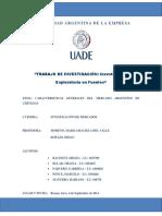Investigación Exploratoria (TP Investigación de Mercados 2014 - Caso Cerveza Corona)
