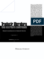 AVERBACH, M._Traducir Literatura. Una escritura controlada.pdf