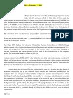 E. Campaign and Election Propaganda (Chapter VI)