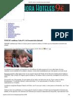 UNICEF Confirma Cuba 0% de Desnutrición Infantil