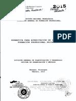 Normativa Acreditacion Centros Privados - INATEC