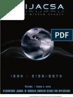 IJACSA Volume 1 No 2 August 2010